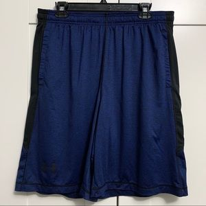 Under Armour Navy Blue Athletic Shorts